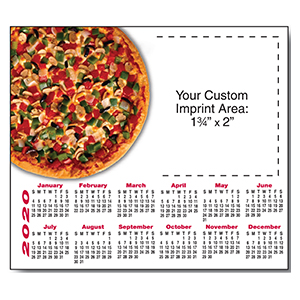 Item: Magnet-21014 - Pizza  Magnetic Calendar