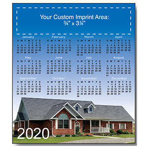 Item: Magnet-21120 - New Home 2  Magnetic Calendar