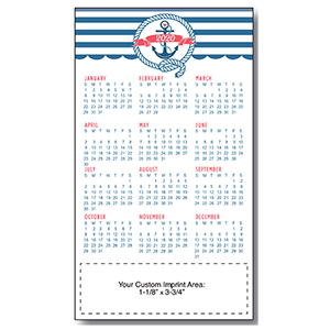 Item: Magnet-21190 - Anchor Large Magnetic Calendar