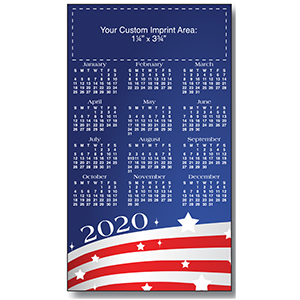 Item: Magnet-21738 - USA Large Magnetic Calendars