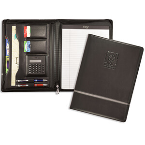 Item: 8066 - Chartwell Zippered Padfolio
