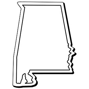ALABAMA1 - Indoor NoteKeeper&#0153 Magnet