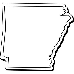 ARKANSAS1 - Indoor NoteKeeper&#0153 Magnet