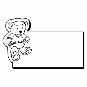 Bear1 - Indoor NoteKeeper&#0153 Magnet
