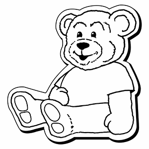Bear2 - Indoor NoteKeeper&#0153 Magnet