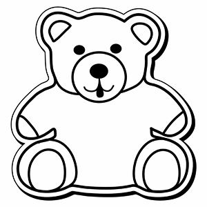 Bear4 - Indoor NoteKeeper&#0153 Magnet