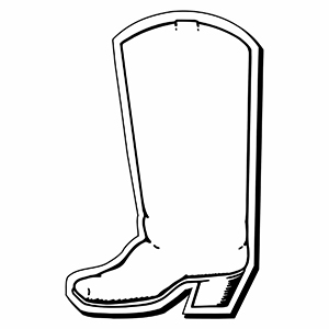 Item: Boot1 -  Indoor Notekeeper&#0153 Magnet