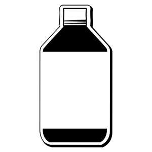 BOTTLE1 - Indoor NoteKeeper&#0153 Magnet