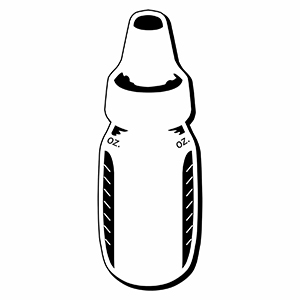 BOTTLE2 - Indoor NoteKeeper&#0153 Magnet