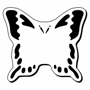 BUTTERFLY1 - Indoor NoteKeeper&#0153 Magnet