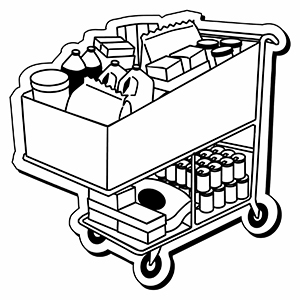 CART1 - Indoor NoteKeeper&#0153 Magnet