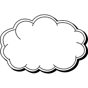 CLOUD1 - Indoor NoteKeeper&#0153 Magnet