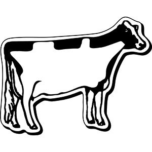 Item: Cow1 -  Indoor Notekeeper&#0153 Magnet