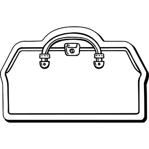 DOCTORBAG1 - Indoor NoteKeeper&#0153 Magnet