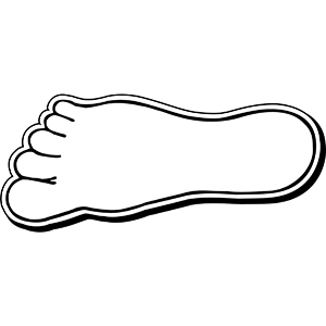 FOOT2 - Indoor NoteKeeper&#0153 Magnet