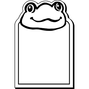 FROG1 - Indoor NoteKeeper&#0153 Magnet