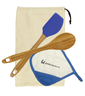 Item: GS28 - Bamboo Gift Set with Pot Holder