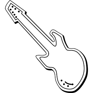 GUITAR1 - Indoor NoteKeeper&#0153 Magnet