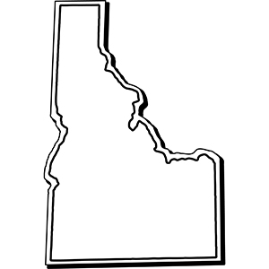 IDAHO1 - Indoor NoteKeeper&#0153 Magnet
