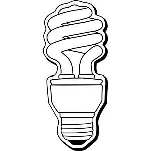 LIGHTBULB5 - Indoor NoteKeeper&#0153 Magnet