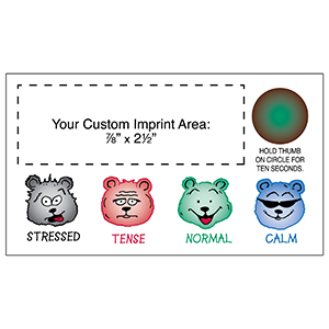 "Item: Magnet-19512 - ""Bears"" Stress-Test  Business Card Magnet"