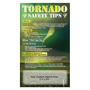 Item: Magnet-20030 - Tornada Safety Tips Mega-Mags&#0153 Magnet