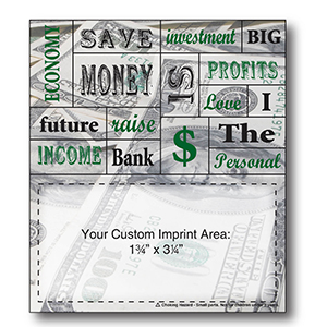 Item: Magnet-22098 -Financial Words Plus&#0153 Business Card
