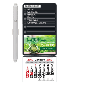 Item: Magnet-22112 - Chalkboard Shopping List