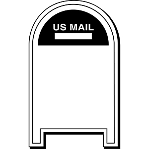 MAILBOX1 - Indoor NoteKeeper&#0153 Magnet