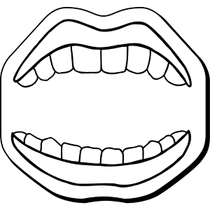 MOUTH1 - Indoor NoteKeeper&#0153 Magnet