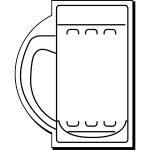 MUG1 - Indoor NoteKeeper&#0153 Magnet