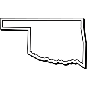 OKLAHOMA1 - Indoor NoteKeeper&#0153 Magnet
