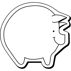 PIG1 - Indoor NoteKeeper&#0153 Magnet
