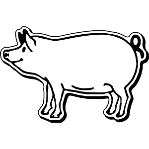 PIG4 - Indoor NoteKeeper&#0153 Magnet