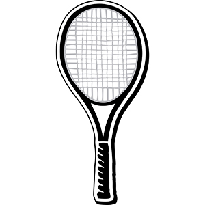 RACKET1 - Indoor NoteKeeper&#0153 Magnet