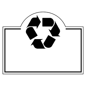 Item: Recycle4-  Indoor Notekeeper&#0153 Magnet