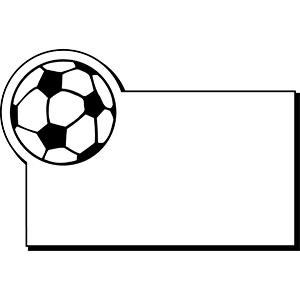 Item: Soccerball2 -  Indoor Notekeeper&#0153 Magnet