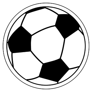 Item: Soccerball3 -  Indoor Notekeeper&#0153 Magnet