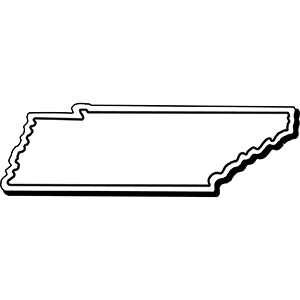 TENNESSEE1 - Indoor NoteKeeper&#0153 Magnet