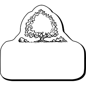 Item: Tree1 -  Indoor Notekeeper&#0153 Magnet