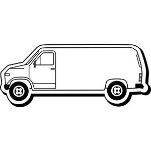 Item: Van3 -  Indoor Notekeeper&#0153 Magnet