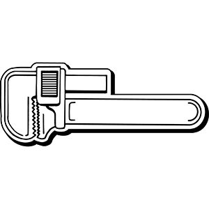 WRENCH1 - Indoor NoteKeeper&#0153 Magnet